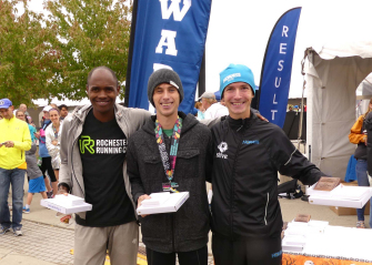 Three Winners at this year's Mohawk Hudson River Marathon and Half Marathon